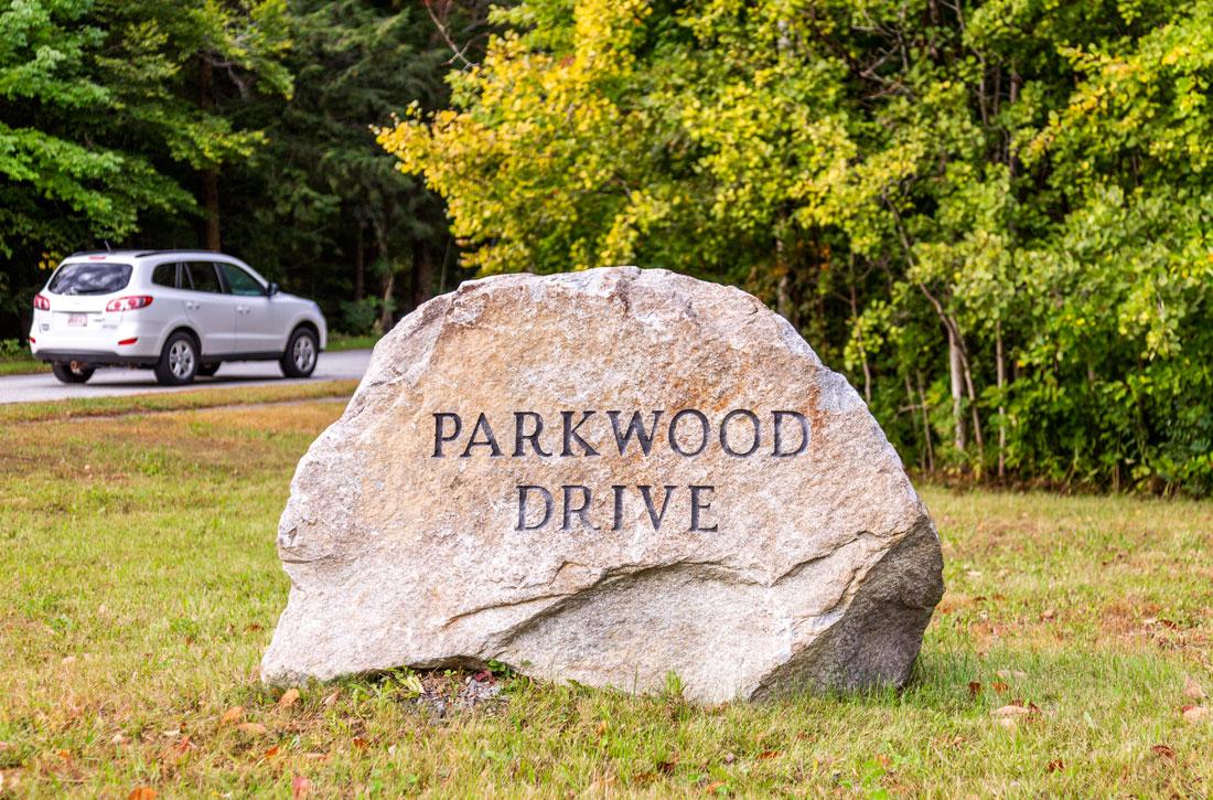Parkwood Apartments entrance