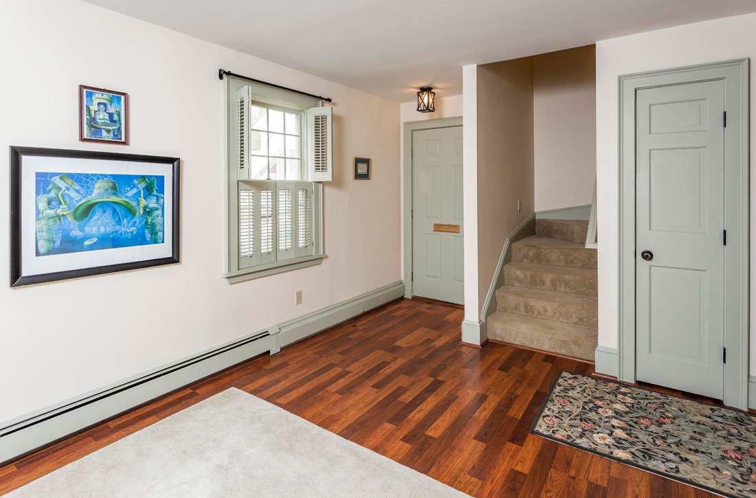 Two story apartment in Hallowell
